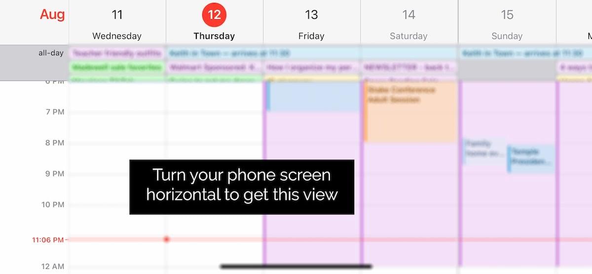 apple calendar tutorial iphone