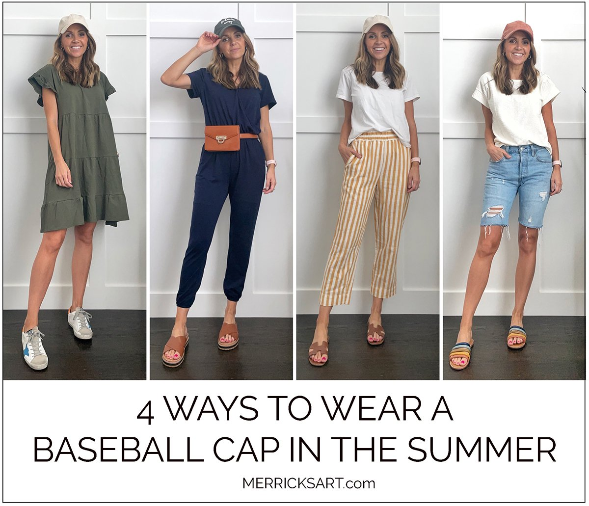 4 ways to wear a baseball hat