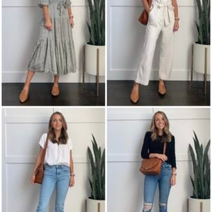 4 ways to wear madewell loafers