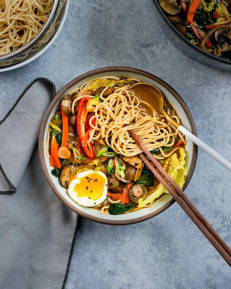 dinner ideas miso ramen