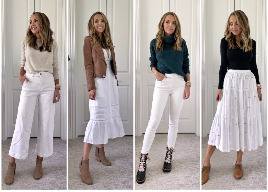 4 ways to wear white after labor day