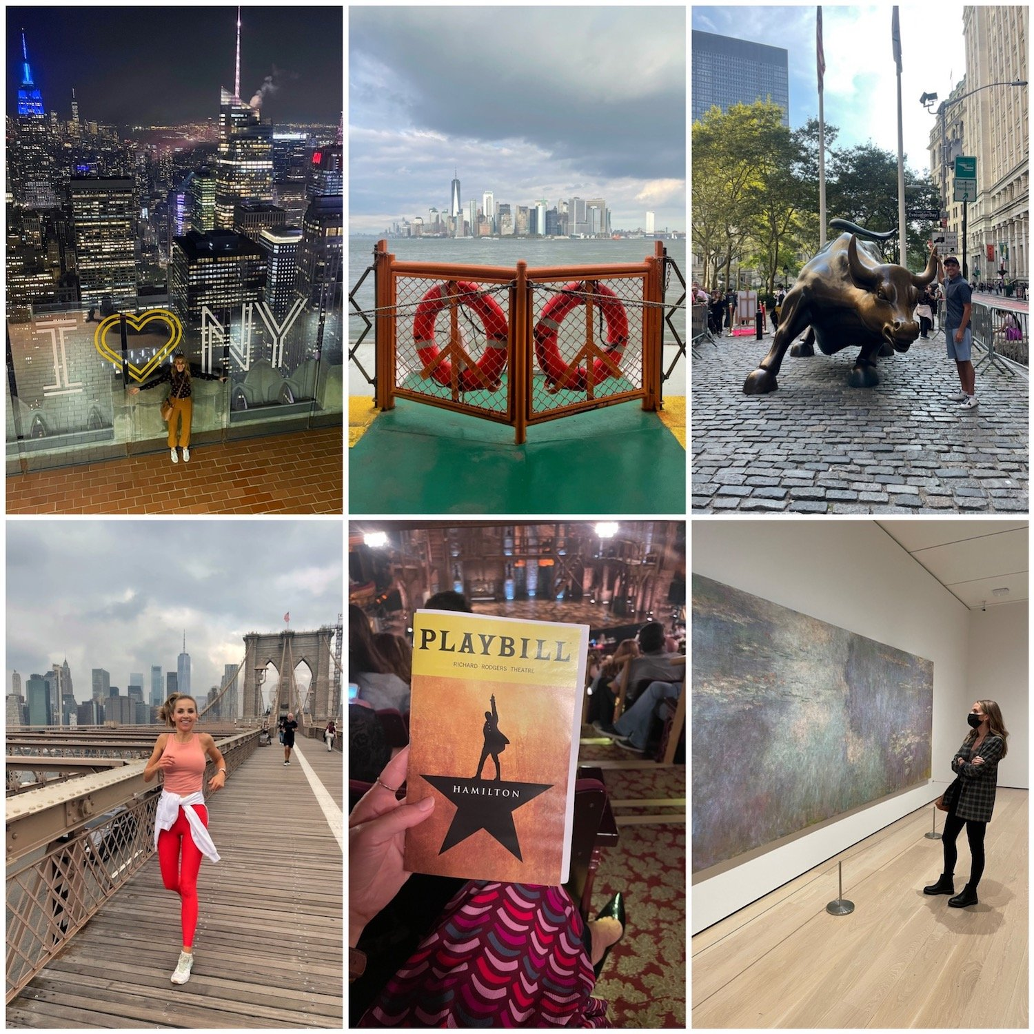 what we did in new york city fall trip