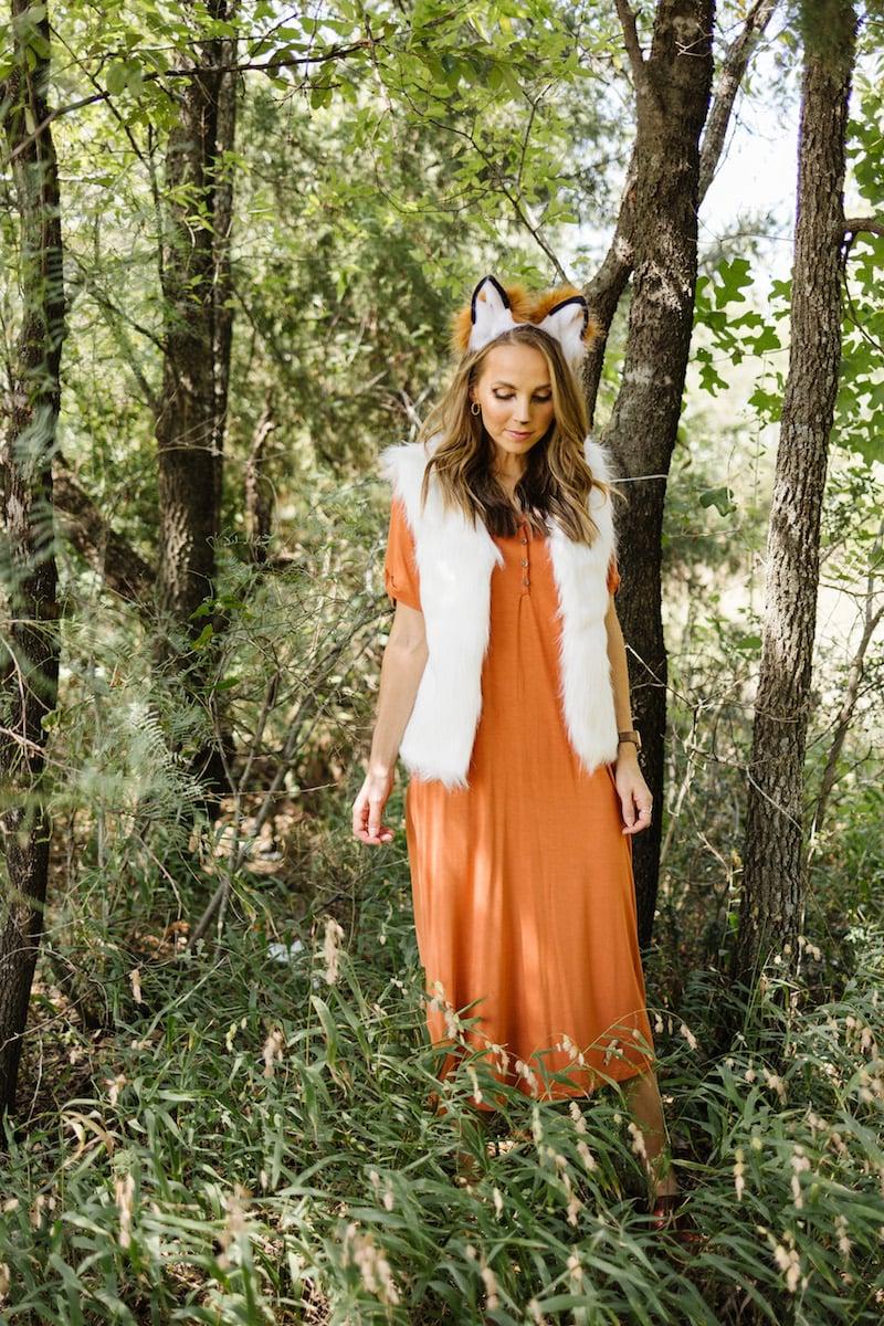 women's fox costume