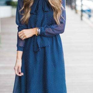 DIY Friday: Bow Collar Dress