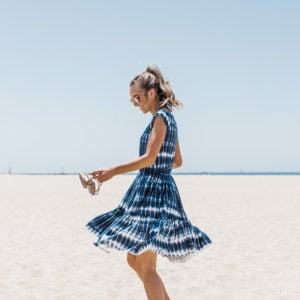 DIY Friday: Tie Dye Cap Sleeve Tiered Dress