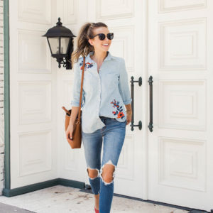 An Ice Cream Date and Back to School Jeans