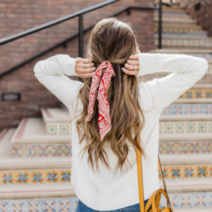 8 Ways to Add a Bandana Scarf to Your Outfit