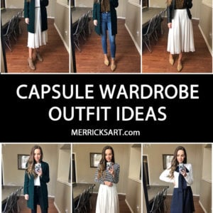 How to Build a Capsule Wardrobe (13 Pieces, Dozens of Outfits)