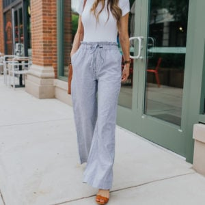 Wide Leg Pants Outfit Ideas