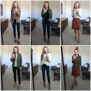 How to Build a Fall Capsule Wardrobe (13 Pieces, 13 Outfits)