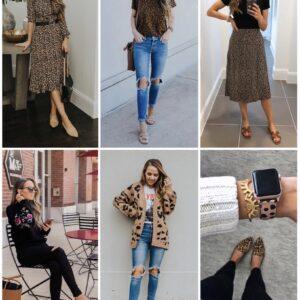 Leopard print outfit ideas