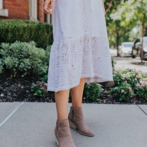 Booties for Women - tan and brown ankle boot shopping guide